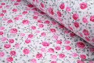 Rose Flowers 100% Cotton Fabric (per meter)