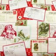 Christmas Letters 100% Cotton Fabric Fat Quarter