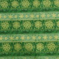 Riley Blake Christmas Green Stars 100% Cotton Fabric Fat Quarter