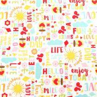 Riley Blake Designs Happy Day 100% Cotton Fabric