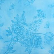 Kanvas Brand Blue Cotton Quilting Craft Fabric Fat Quarter