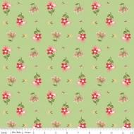 Riley Blake Designs Summer Blush Posie Premium Quality Quilting Craft Dress-making 100% Cotton Fabric per meter, 110cm width