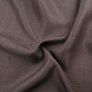 Upholstery Fabric Plain Linen Look Designer Curtain Sofa Cushion Material - Brown
